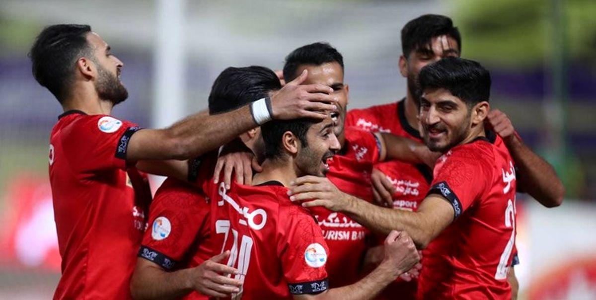 جدول ردهبندی لیگ برتر پس از پایان مسابقات امروز