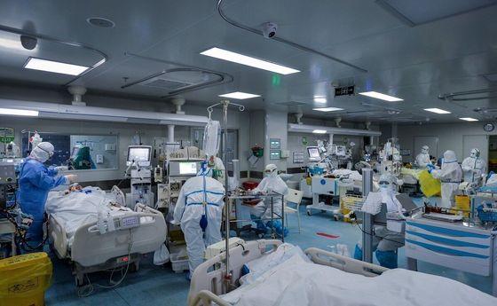 وضعیت تکان دهنده یک بیمارستان کرونایی در تهران