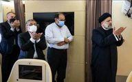 نماز رییسی در هواپیما در سفر به تاجیکستان +عکس