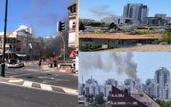 گردان های القسام: تل آویو را با ده ها موشک هدف قرار دادیم +عکس