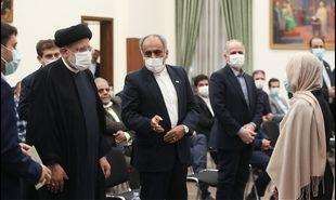 تصاویر: دیدار ایرانیان مقیم تاجیکستان با رئیس جمهور