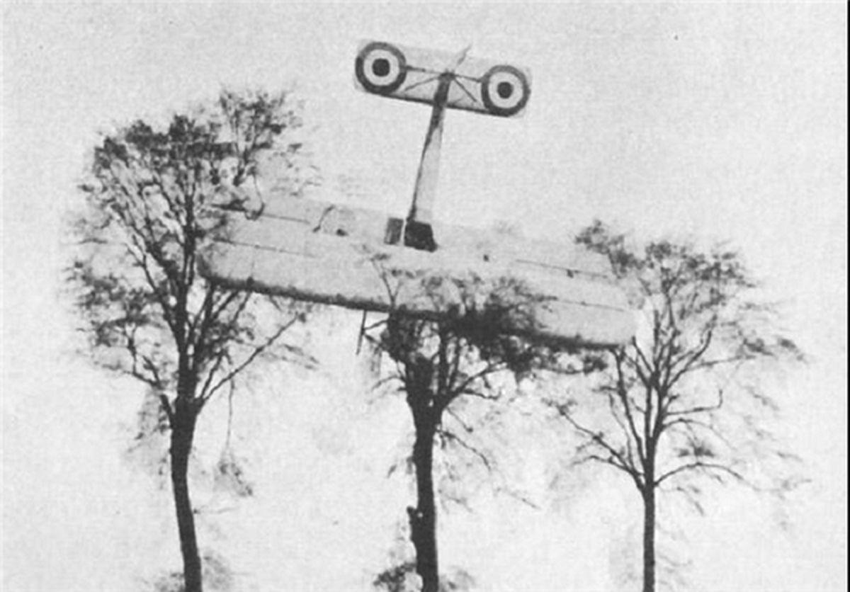 اولین حوادث هواپیمایی جهان / تصاویر