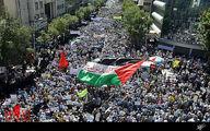 فیلم: مسیرهای دهگانه راهپیمایی روز قدس در تهران
