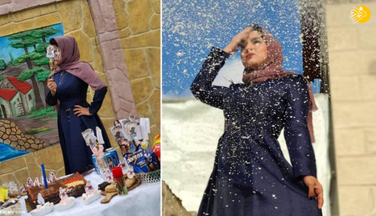 جشن طلاق یک زن در شبکههای اجتماعی جنجال به پا کرد! +عکس