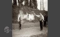 آزمایش عجیب جلیقه ضد گلوله در قدیم +عکس