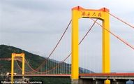 تصاویری زیبا از طولانیترین پل معلق جهان