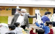 حضور ربیعی در یکی از مراکز شبانهروزی نگهداری کودکان