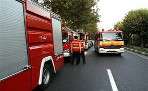 مرگ مادر و دختر در آتش سوزی ویلا باغ دزفول