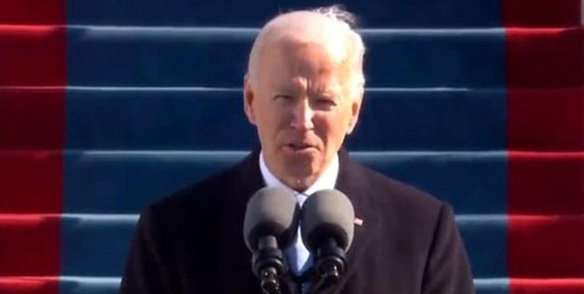 جو بایدن در اولین سخنرانی رسمی خود چه گفت؟