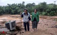 تصاویر: رانش زمین در ویتنام