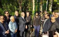 پیکر آشتیانی در غیاب پرسپولیسیها تشییع شد