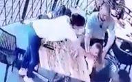 لحظه گرفتار شدن مرد کودک ربا توسط مادر +فیلم