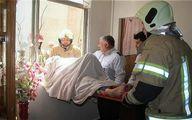 سقوط زن خانهدار از پشتبام خانهاش در تهران +تصاویر