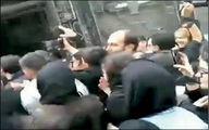 ازدحام مردم در مراسم نذری محمدرضا گلزار +عکس