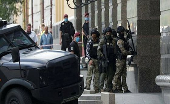 گروگانگیری در پایتخت اوکراین