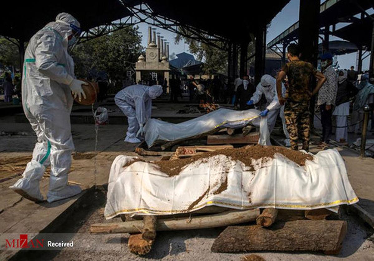 تصاویر: مرگبارترین روزهای کرونا