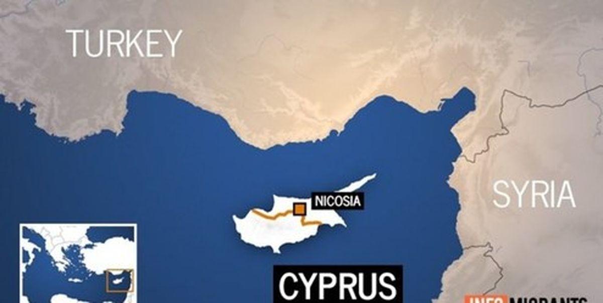 ناوهای ترکیه کشتی اسرائیلی را از آبهای اطراف قبرس اخراج کردند