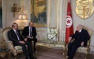 وزیرخارجه ترکیه با رئیس جمهور تونس دیدار کرد