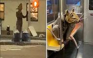اعتراض جالب یک بازیگر تئاتر به جولان موشها در نیویورک