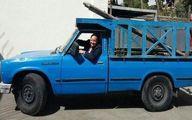 خداحافظی سفیر آلمان از ایرانیها با نیسان آبی! +عکس