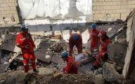 تخریب غیر اصولی ساختمان حادثه ساز شد +تصاویر