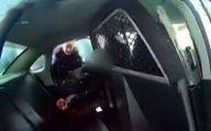 پاشیدن اسپری فلفل به صورت دختربچه توسط پلیس آمریکا جنجالی شد +فیلم
