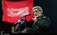 سردار قاآنی: آمریکاییها در عراق مثل بید میلرزند