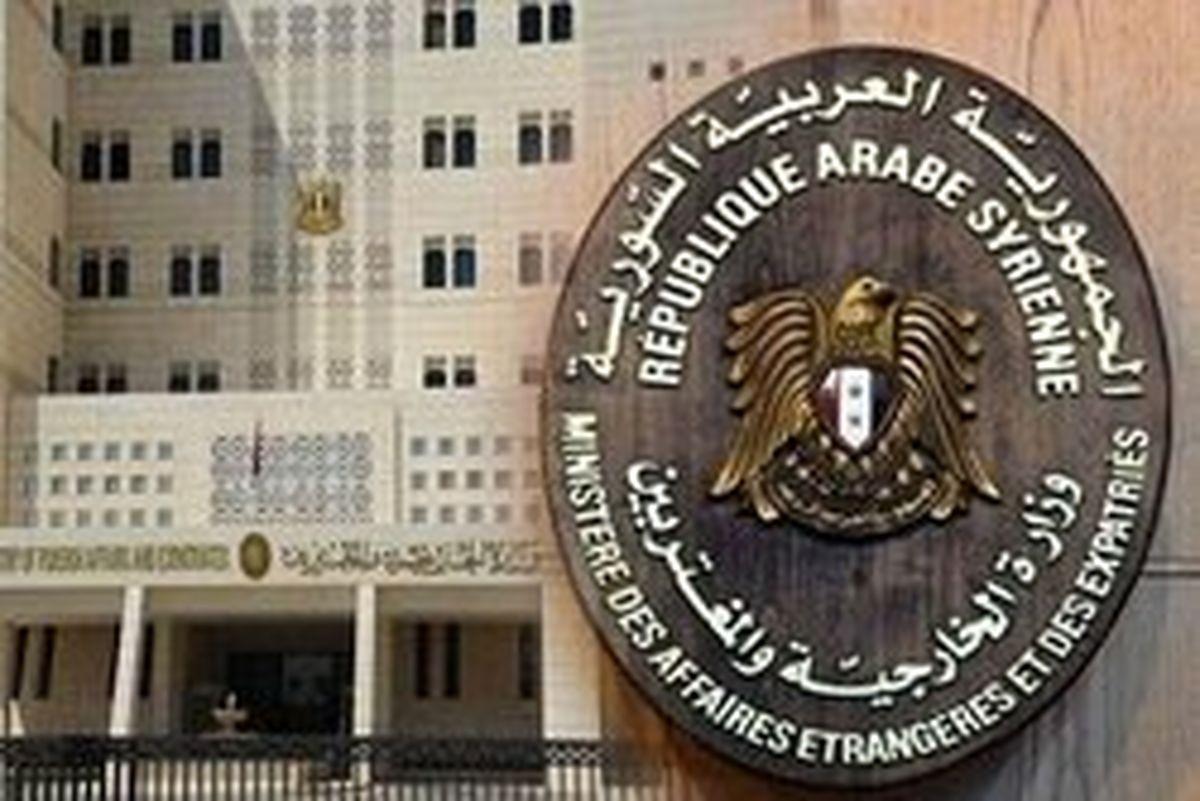 واکنش دمشق به جدیدترین جنایت ائتلاف آمریکایی در دیرالزور