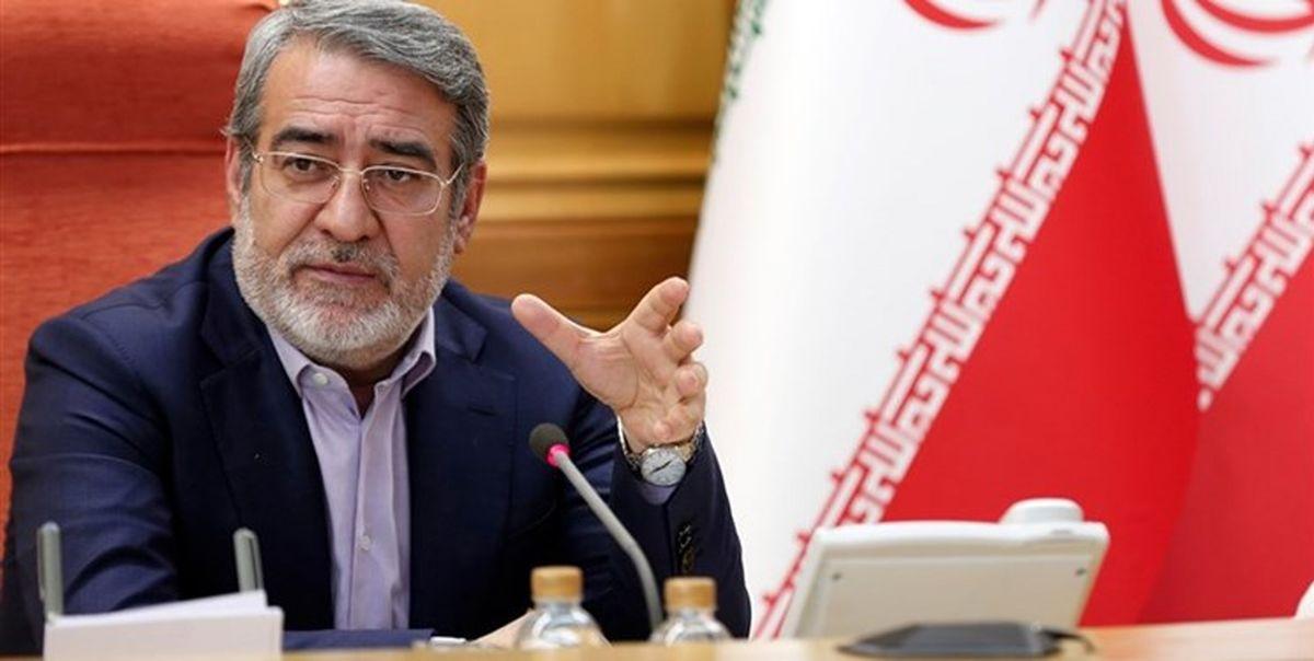 وزیر کشور: در ایران سه واکسن در حال ساخت است
