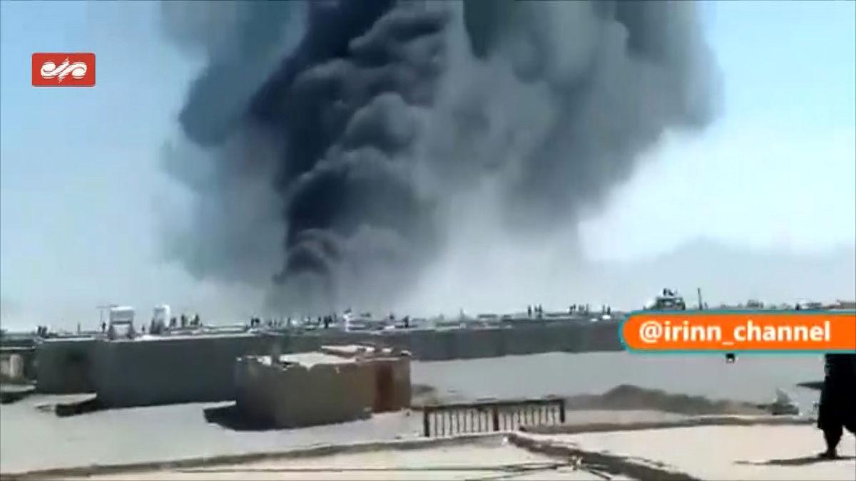 آتشسوزی دوباره در گمرک مرزی افغانستان با ایران
