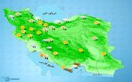 کاهش ۵ تا ۱۵ درجهای دما در برخی شهرها