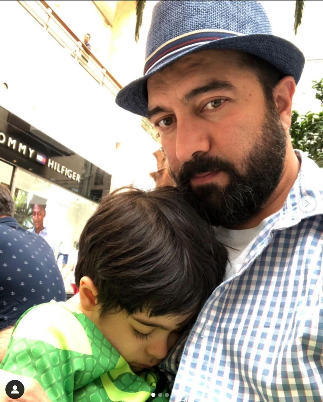 ژست بامزه مجید صالحی در فتوکال جشنواره جهانی فیلم فجر
