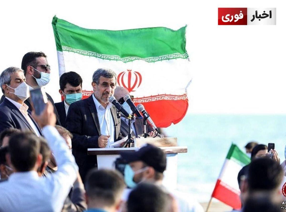 احمدی نژاد: ان شاء الله بزودی خبر بزرگ را میشنوید
