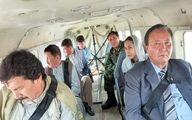 ماجرای برگرداندن هواپیمای حامل «جنرال مراد» از آسمان +عکس
