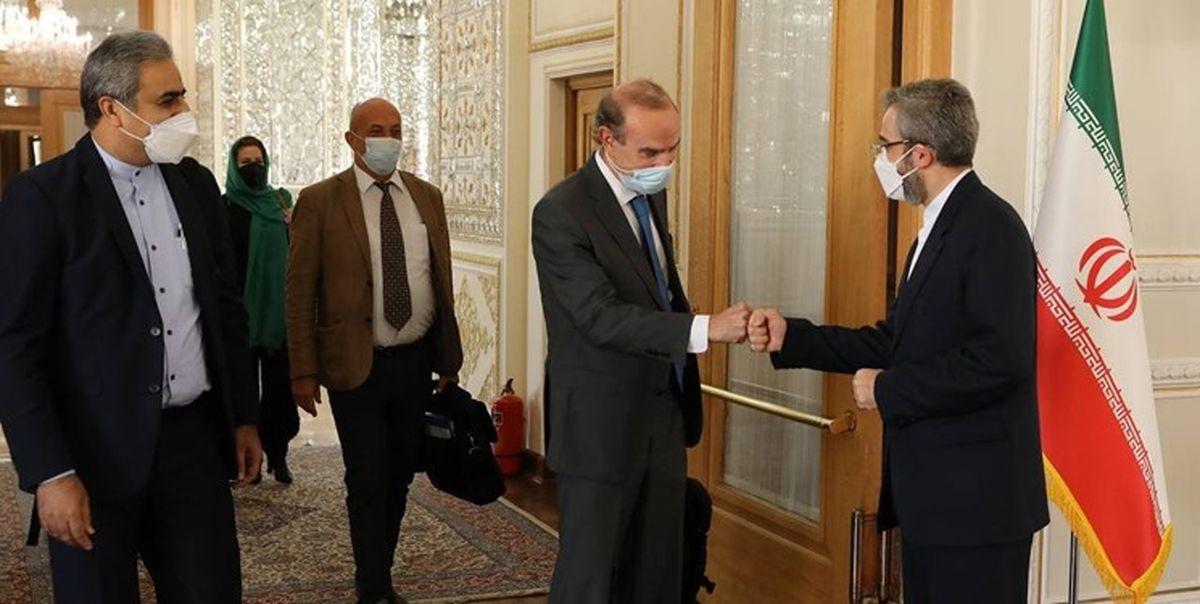 دیدار انریکه مورا با معاون سیاسی وزارت امور خارجه