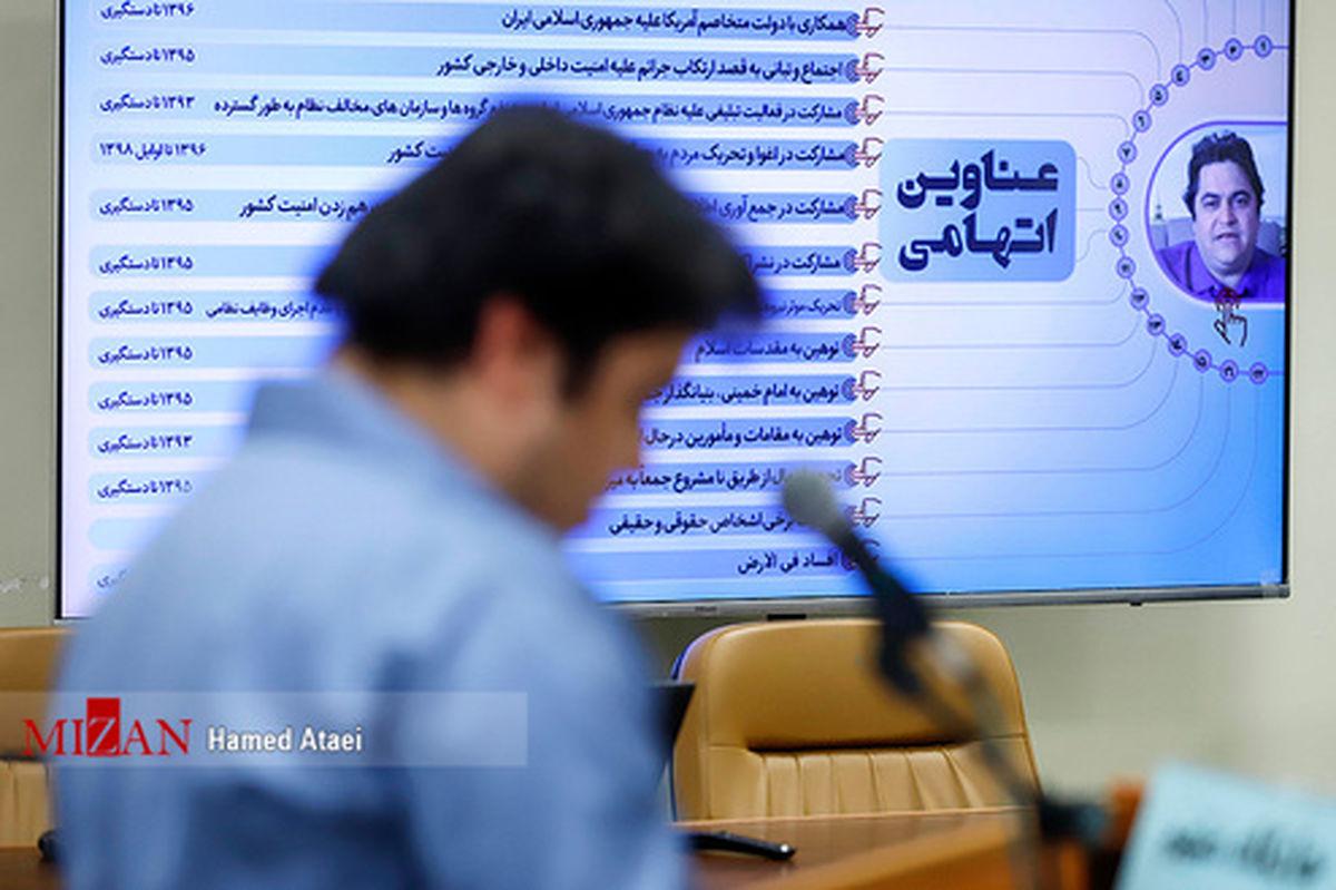 تصاویر: سومین جلسه رسیدگی به اتهامات روح الله زم