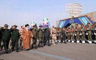 تصاویر: حضور فرمانده کل قوا در مراسم دانشآموختگی دانشجویان ارتش