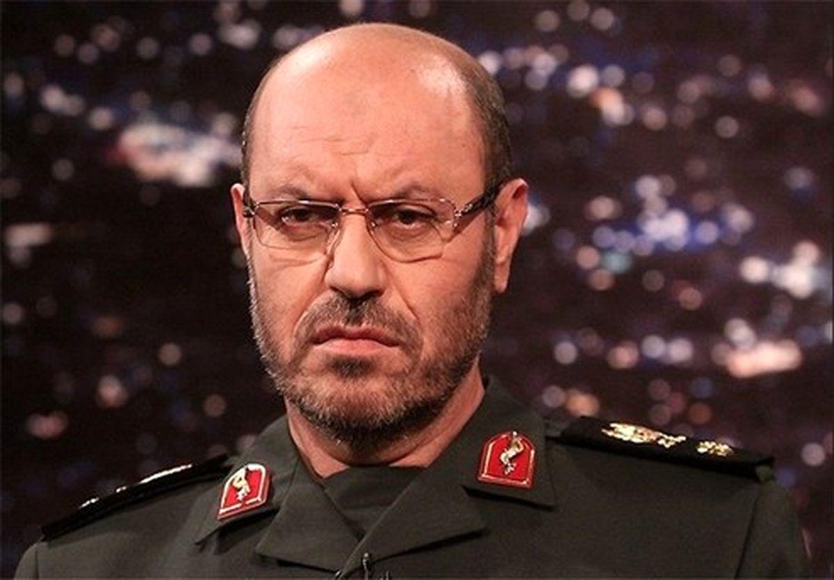 سردار دهقان: با ائتلافی که علیه ایران باشد مقابله میکنیم