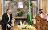 پمپئو با ولیعهد سعودی دیدار کرد