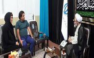 تشرف بانوی مسیحی به اسلام و ازدواج با جوان رشتی +عکس