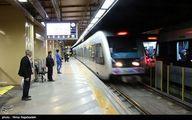 دلیل توقف ۳۰ دقیقه ای قطار در خط ۲ مترو تهران