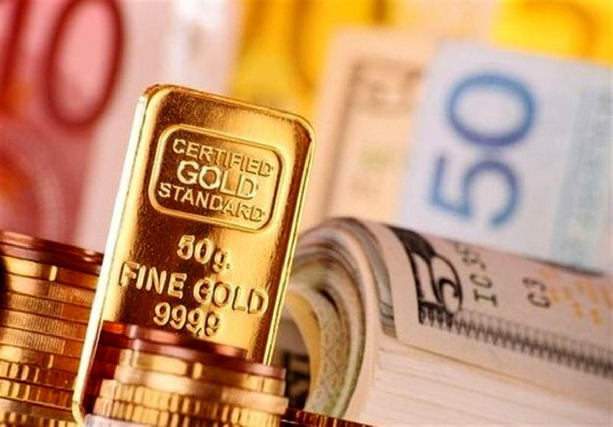 قیمت طلا،دلار،سکه و انواع ارز امروز ۹۹/۰۱/۱۸