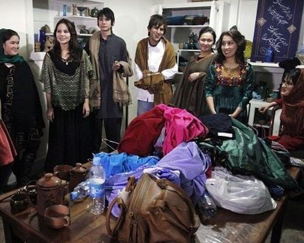 تصاویر: شو لباس به سبک دختران افغان