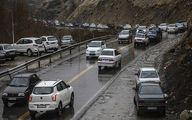 ترافیک سنگین در آزادراه قزوین-کرج