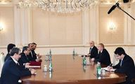 اظهارات رئیس جمهور آذربایجان در دیدار با عراقچی