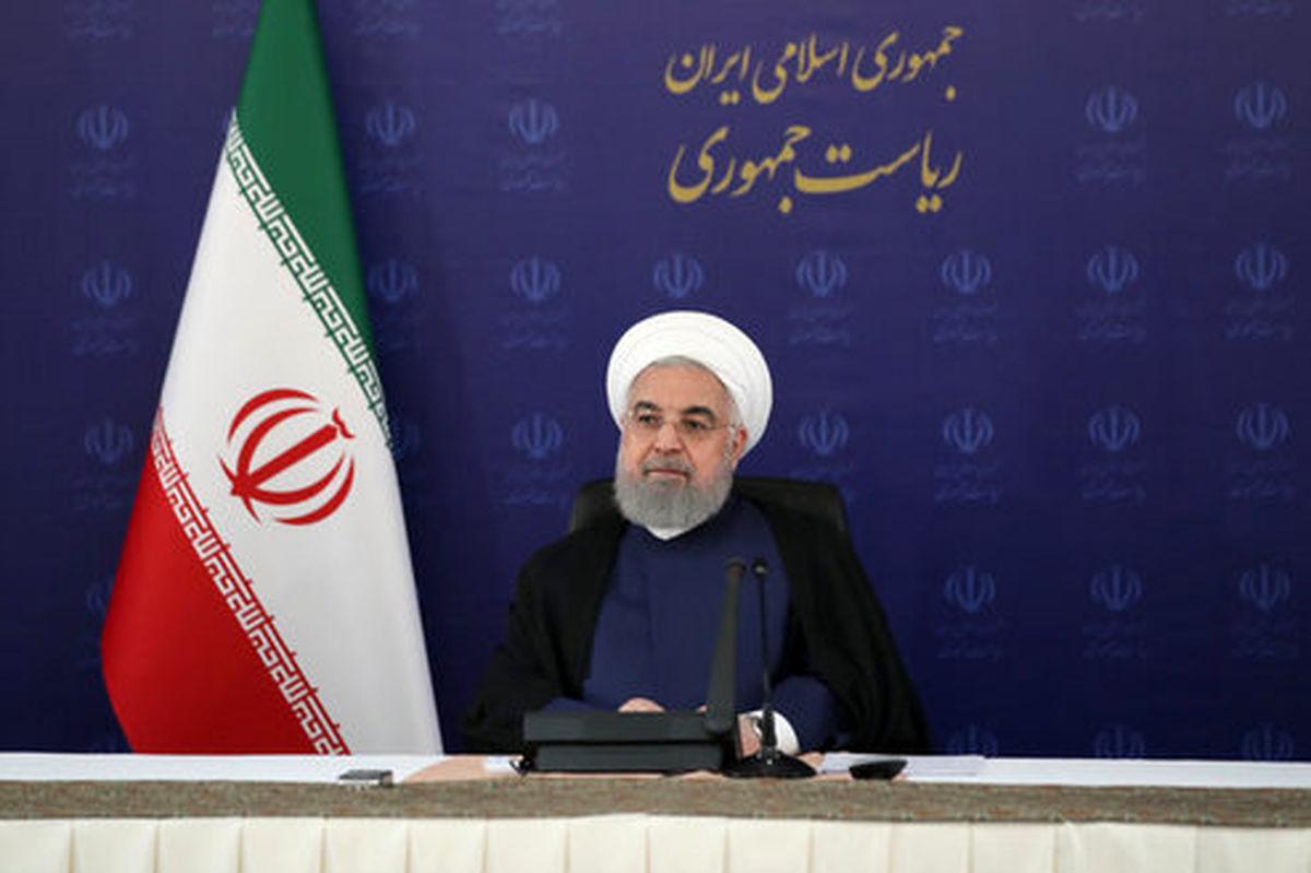 روحانی: خداوند همه رادیو تلویزیون های دنیا را در اختیار امام (ره) قرار داد