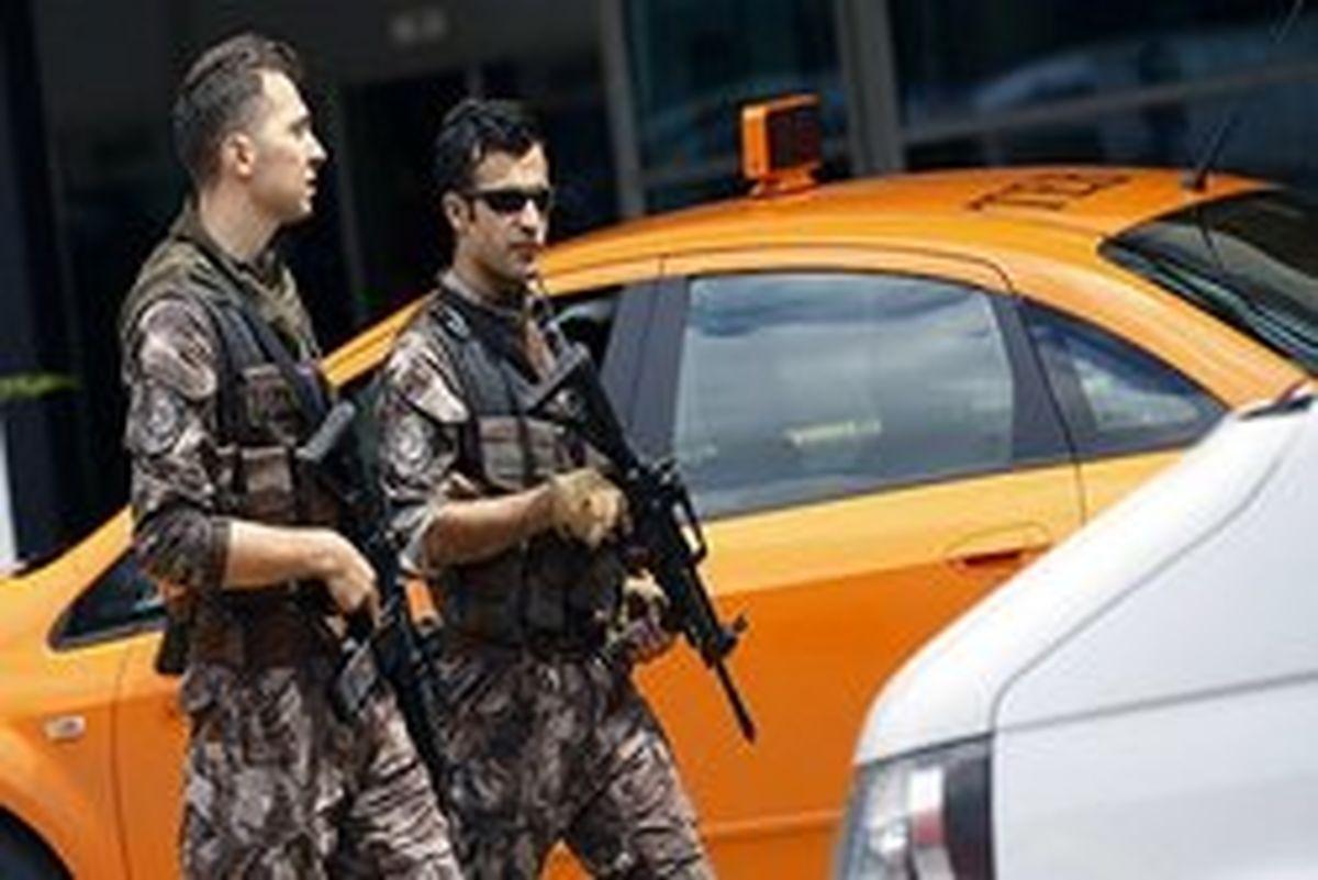 یک عامل انتحاری در ترکیه دستگیر شد