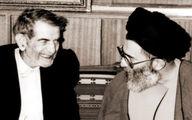 تصویری از دیدار صمیمانه رهبر انقلاب با شهریار