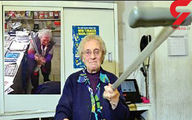 ضرب و شتم شدید دزد توسط این مادربزرگ ۸۲ ساله +عکس