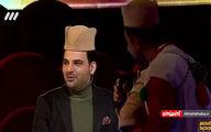 کلاهی که شرکتکننده «عصر جدید» سر احسان علیخانی گذاشت!